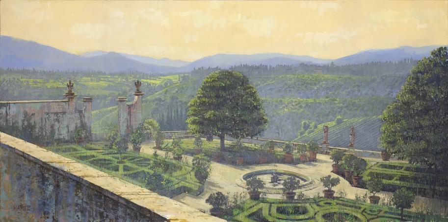 Villa Corsini Garden, at Mezzomonte